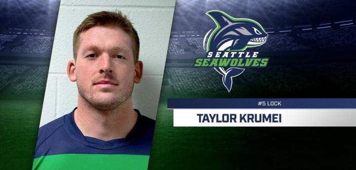 Seattle Seawolves Sign Taylor Krumrei
