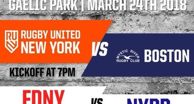 Rugby United New York Host Boston Mystic River