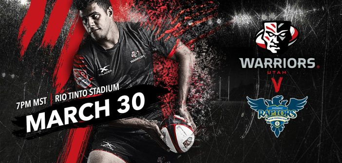 Utah Warriors Face Glendale Raptors
