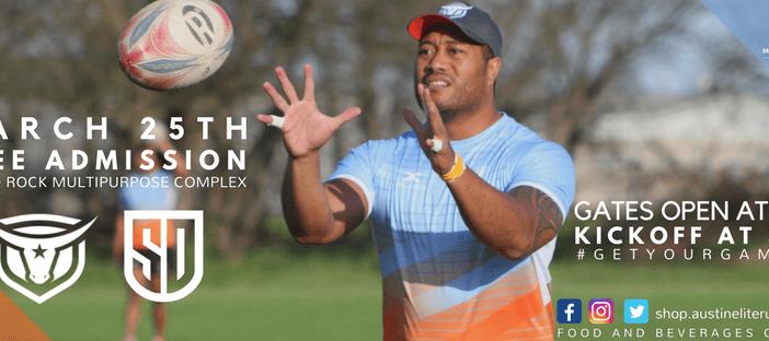 Austin Elite Rugby Host San Diego Legion