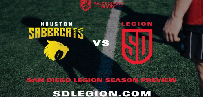 San Diego Legion Ends MLR Exhibition Season against Houston SaberCats