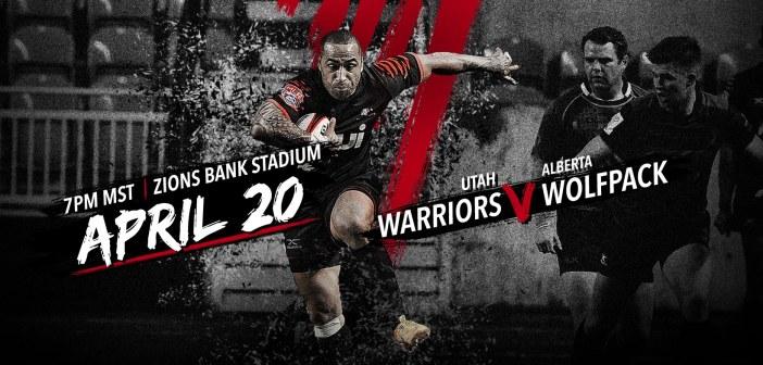 Utah Warriors Host Wolf Pack Rugby in Final Pre-Season Match