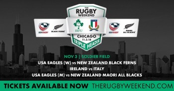 Soldier Field Triple Header: Ireland-Italy, Men's Eagles-Maori All Blacks, Women's Eagles-Black Ferns