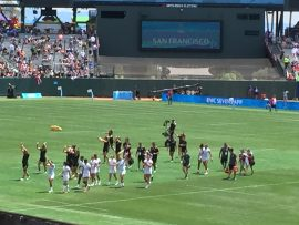 USA Women's 7s Play for Bronze After Narrow RWC7s Loss to New Zealand
