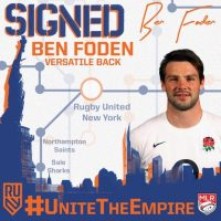 Rugby United New York Signs Ben Foden