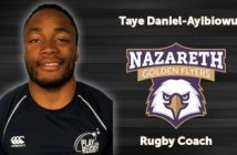 Nazareth College Names Taye Daniel-Ayibiowu Head Rugby Coach