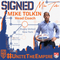 Mike Tolkin: Rugby United New York 2019 Head Coach
