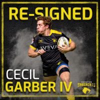 Houston SaberCats Re-Signs Cecil Garber IV