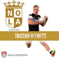 NOLA Rugby Club signs South African Tristan Blewett