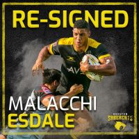 Houston SaberCats Re-Sign Malacchi Esdale