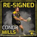 Houston SaberCats Re-Sign Conor Mills