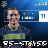 Seattle Seawolves Re-Sign Peter Tiberio