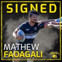 Houston SaberCats Sign Backrow Mathew Faoagali