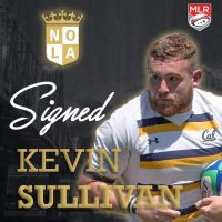 New Orleans Gold Rugby Signs Kevin Sullivan