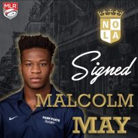 New Orleans Gold Rugby Signs Malcolm May