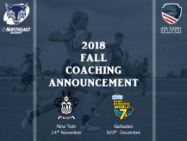 Northeast Academy Fall 2018 Coaching Staff
