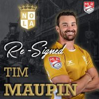 NOLA Gold Rugby Re-Signs Eagle Tim Maupin