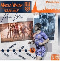 Rugby United New York Signs Marcus Walsh