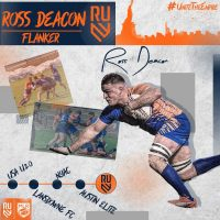 Rugby United New York Re-Signs Ross Deacon