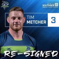 Seattle Seawolves Re-Sign Tim Metcher