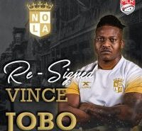 New orleans Gold Re-Signs Vince Jobo