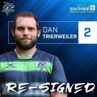 Seattle Seawolves Re-Sign Dan Trierweiler