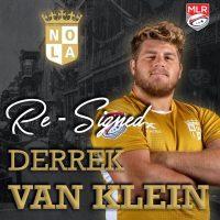 New Orleans Gold Re-Signs Derrek Van Klein