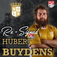 New Orleans Gold Re-Signs Hubert Buydens