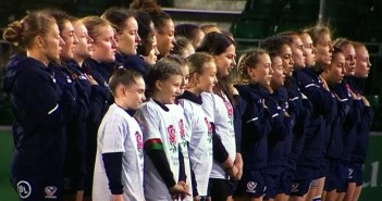 USA Rugby Women's Eagles See Red as England Rolls