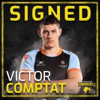 Houston SaberCats Sign Houston SaberCats Sign Victor Comptat