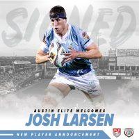 Austin Elite Rugby Signs Josh Larsen