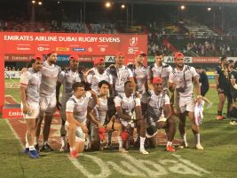 USA Men's Eagles Sevens Gain Silver at Dubai Sevens