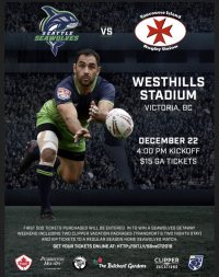 Seattle Seawolves Travel to Meet Crimson Tide
