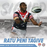 Austin Elite Rugby Signs Peni Tagive