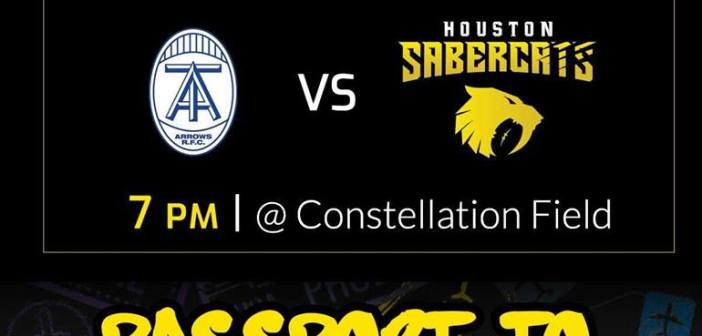 Houston SaberCats vs Toronto Arrows: MLR 2019