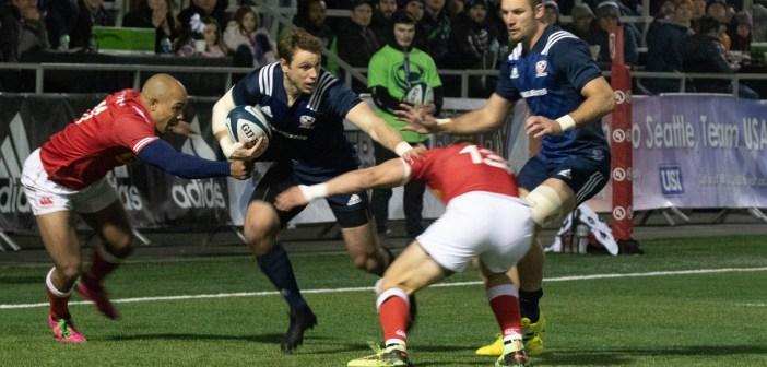 USA Men's Eagles Edges Canada
