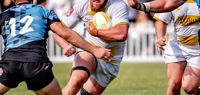NOLA Gold Foil Austin Elite Rugby Comeback With Closing Try
