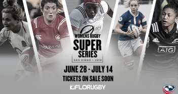 San Diego Hosts Women's Rugby Super Series
