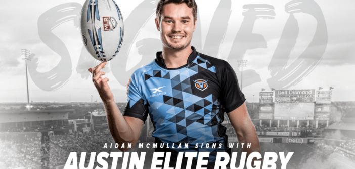 Austin Elite Rugby Signs Aidan McMullan