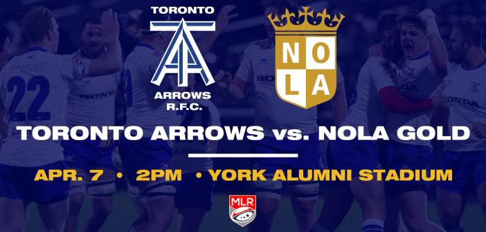Toronto Arrows vs NOLA Gold Rugby: 2019 MLR Preview