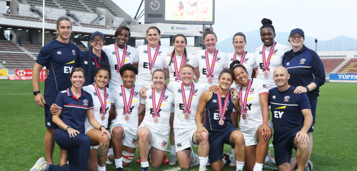 USA Women's Eagles Sevens Earn Bronze at Kitakyushu Sevens