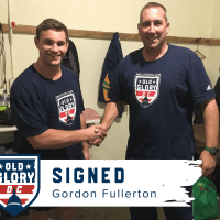 Old Glory DC Signs Gordon Fullerton