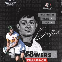 Utah Warriors Drafts John Powers