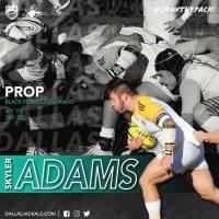 Dallas Jackals Adds Skyler Adams