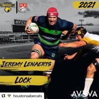 Houston SaberCats Signs Jeremy Lenaerts