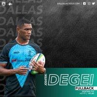 Dallas Jackals Signs Josateki Degei