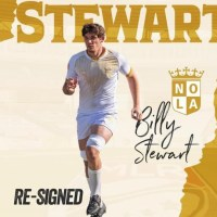 NOLA Gold Signs Billy Stewart to 2-Year Contract Extension