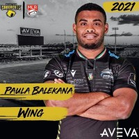 Houston SaberCats Signs Paula Balekana