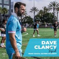 LA Giltinis Names Dave Clancy Academy Coach