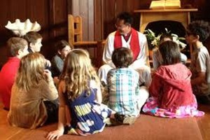 Lunch and Learn kids Sunday school